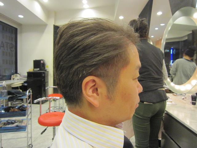 髪型 メンズ ショート 三代目. 40代
